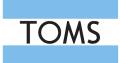 Toms: Versandkostenfrei ab 49,95 EUR